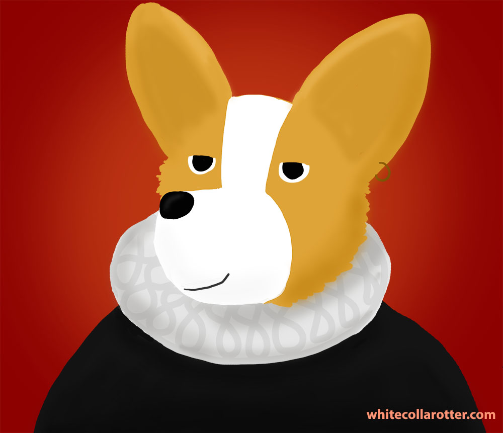 Corgi Shakespeare